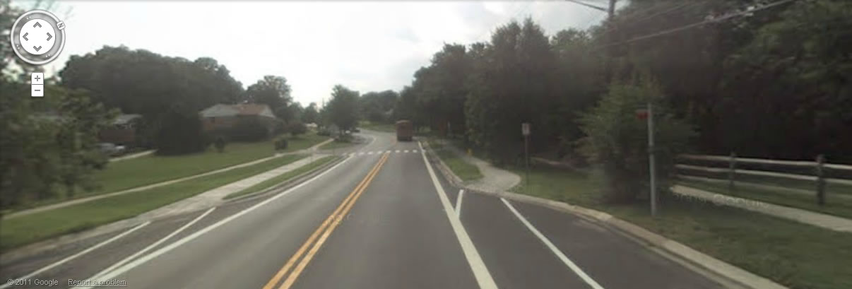 Calverton Blvd bike lanes